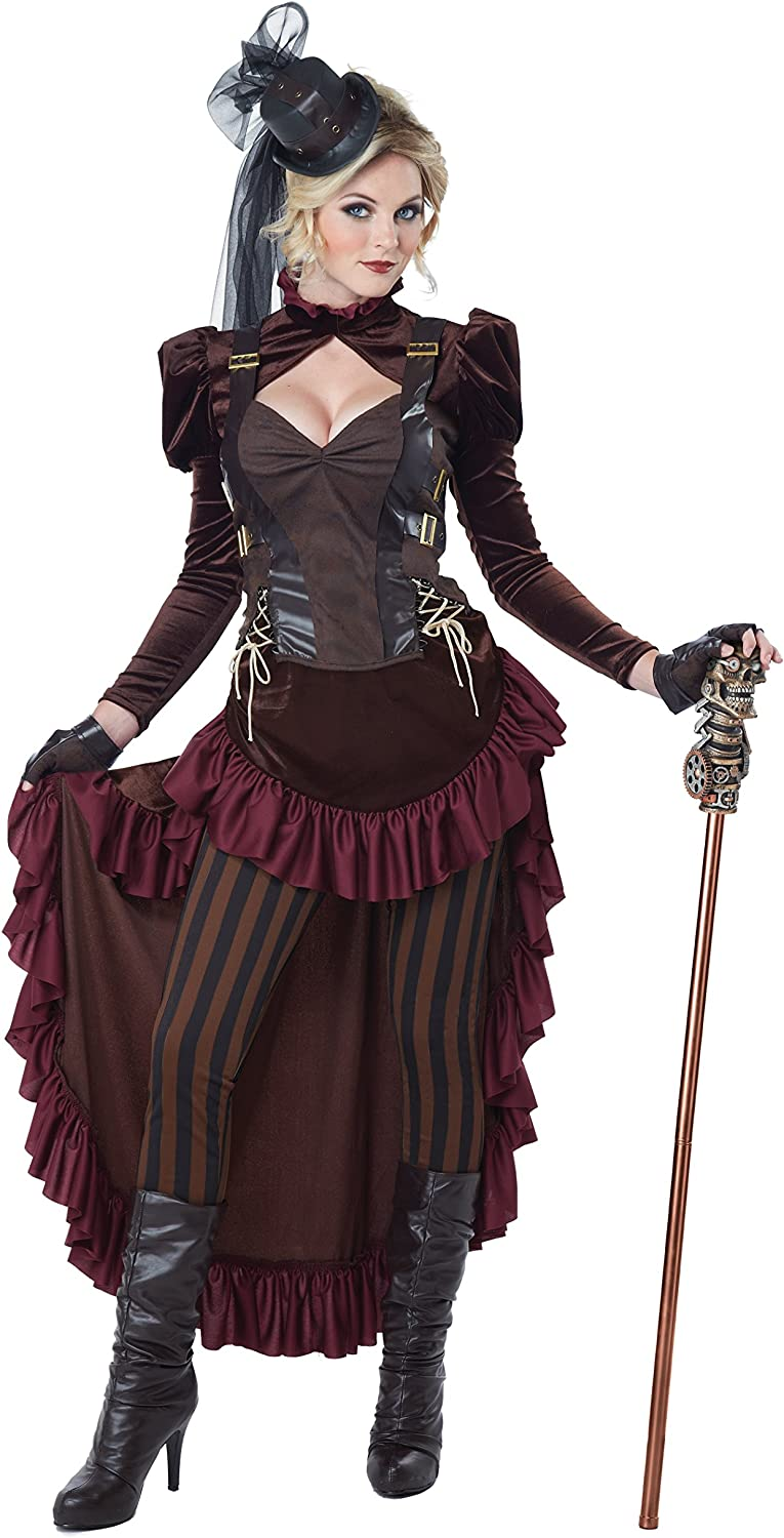 Steampunk Girl Womens Costume