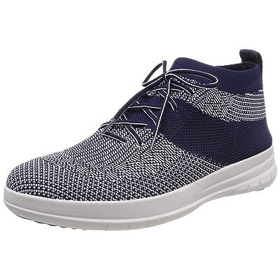 FitFlop Men's Uberknitslip-on High Top Sneaker | Fashion Sneakers