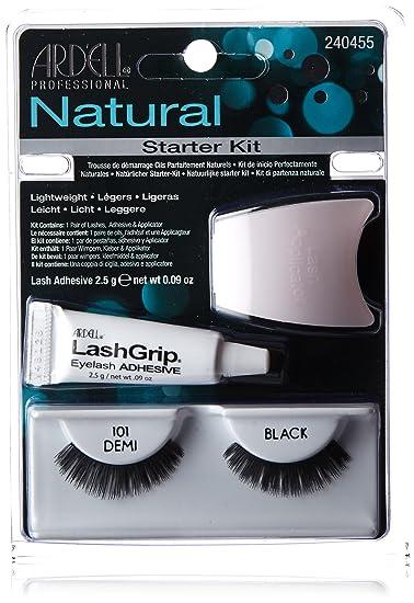 3b914176792 Amazon.com : Ardell Natural Fake Eye Lashes, Starter Kit #101 : Fake  Eyelashes And Adhesives : Beauty