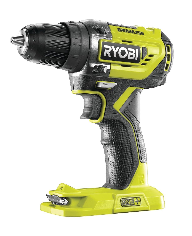 Ryobi R18DD5-0 ONE+ Cordless Brushless Drill Driver, 18 V, Hyper Green