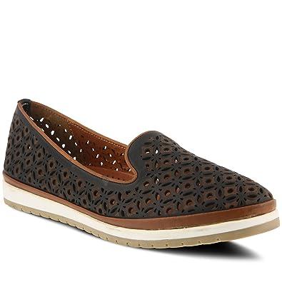 96ce94352432 Spring Step Women s Style Tulisa Black Euro Size 36 Leather Slip-On Shoe