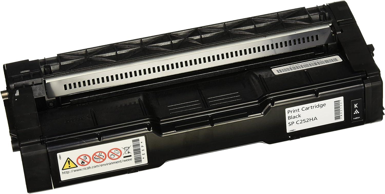 Ricoh 407653 SP C252 Black Toner Cartridge