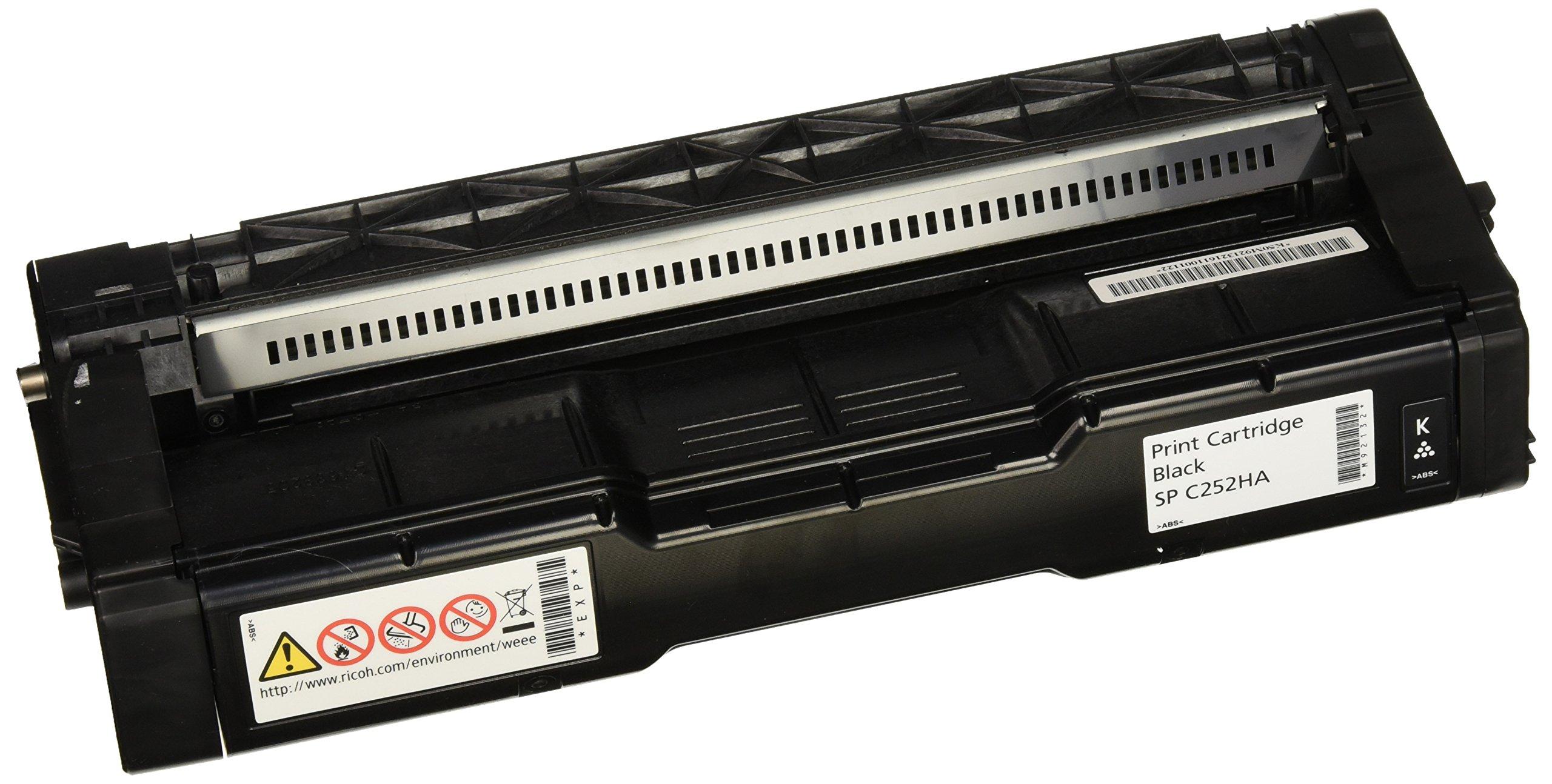 Ricoh Black Toner Cartridge, 6500 Yield (407653)