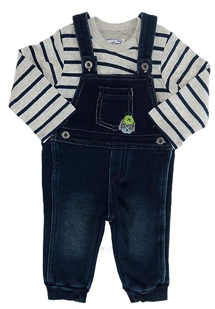 Baby Jungen Latzhose Jeans Mayoral blau