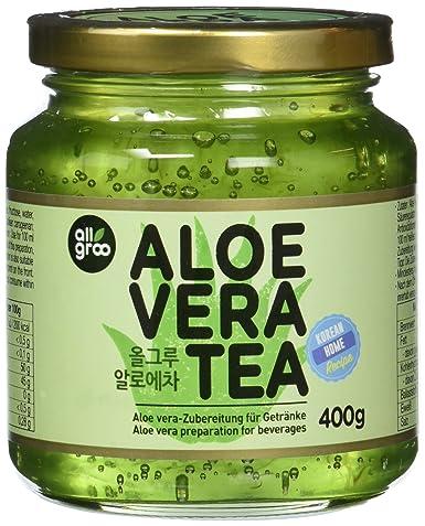 ALLGROO Aloe Vera- Tee, 4er Pack (4 x 400 g): Amazon.de ...