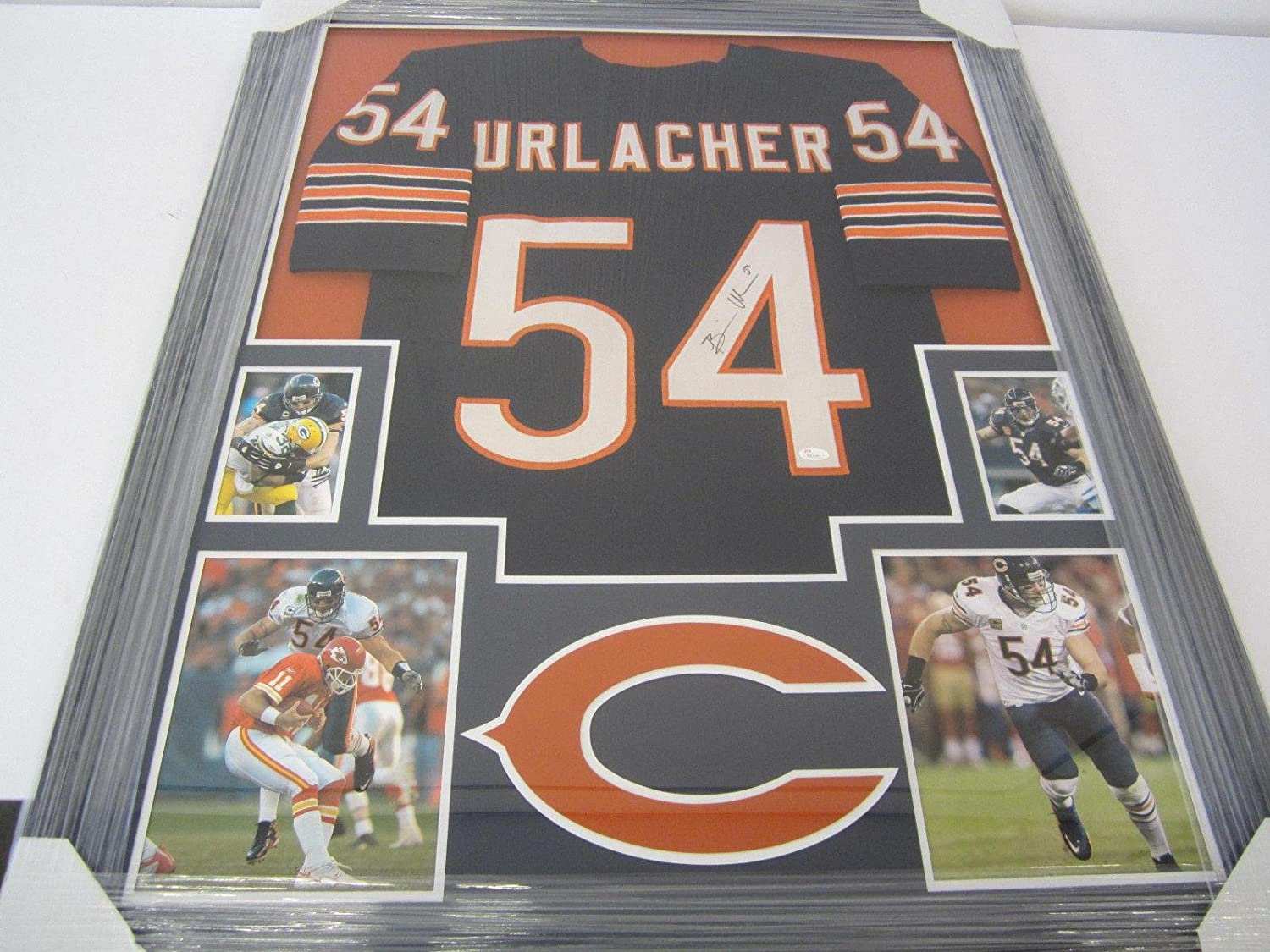3eb6ac34 Amazon.com: Signed Brian Urlacher Jersey - Home Witness - JSA Certified -  Autographed NFL Jerseys: Sports Collectibles