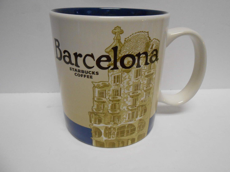 Starbucks Barcelona (España) Icon - Taza de té: Amazon.es: Hogar
