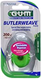 GUM ButlerWeave Waxed Dental Floss, Rewindable