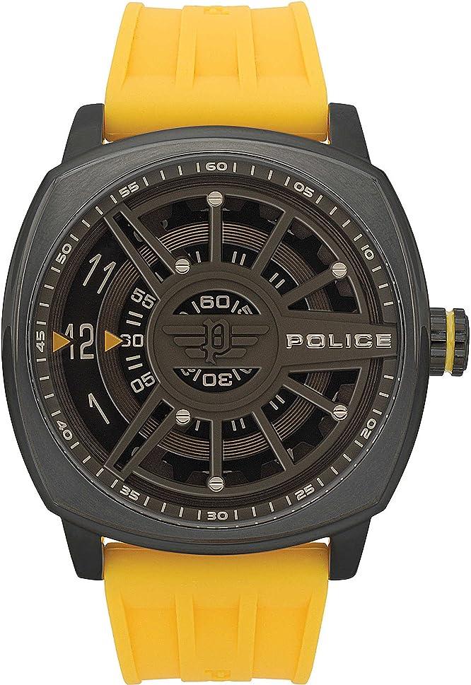 Orologio multifunzione uomo police speed head sportivo cod. r1451290006