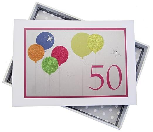 White Cotton Cards - Álbum de Fotos de 50º cumpleaños con ...