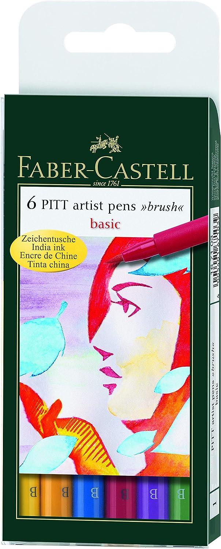 Tuschestift Pitt artist pen Big Brush Faber-Castell 167699 Stärke B,...
