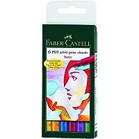 Pitt Artist Brush Pens 6/Pkg