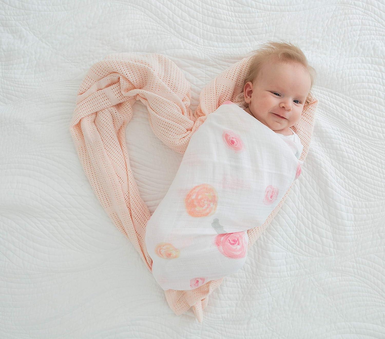 Aventura en La Naturaleza Neutro Set de 3 Mantas de Muselina Para Beb/és Amazing Baby by Swaddledesigns