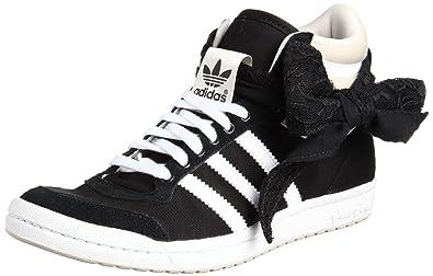adidas Top Ten Hi Sleek Bow Bandana W chaussures noir rouge