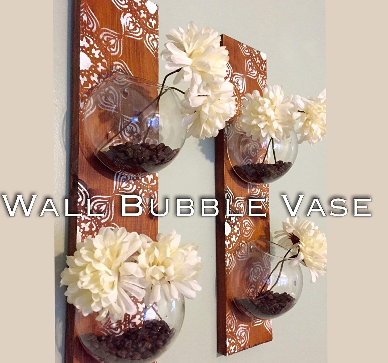 Home Oniship Art Deco Wall Bubble Vase Terrarium