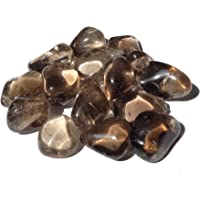 5 x Large Smokey Quartz Tumble Stone Crystal - Healing Crystal - Calmness, Stability, Intuition - Crystal Therapy Tumblestone