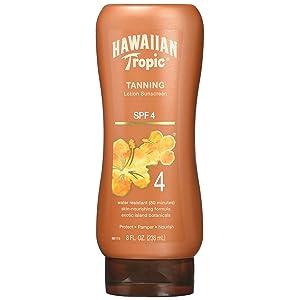 Hawaiian Tropic Protective Dark Tanning Sun Care Lotion