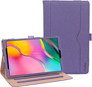 ProCase Galaxy Tab A 10.1 Case 2019 Model T510 T515 T517 - Stand Folio Case Cover for Galaxy Tab A 10.1 Inch 2019 Tablet SM-T510 SM-T515 SM-T517 -Purple