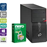 Gaming PC   Fujitsu Esprimo P900 MT   Nvidia Geforce GTX 1050   Intel Core i5-2500 @ 3,3 GHz   8GB DDR3 RAM   1000GB HDD   250GB SSD   DVD-Laufwerk   Windows 10 Pro (Zertifiziert und Generalüberholt)