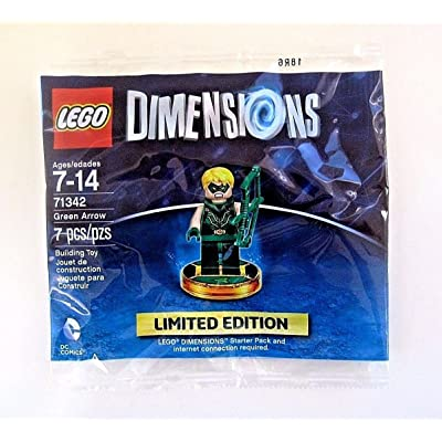 LEGO Dimensions Green Arrow Limited Edition Minifigure 71342: Video Games