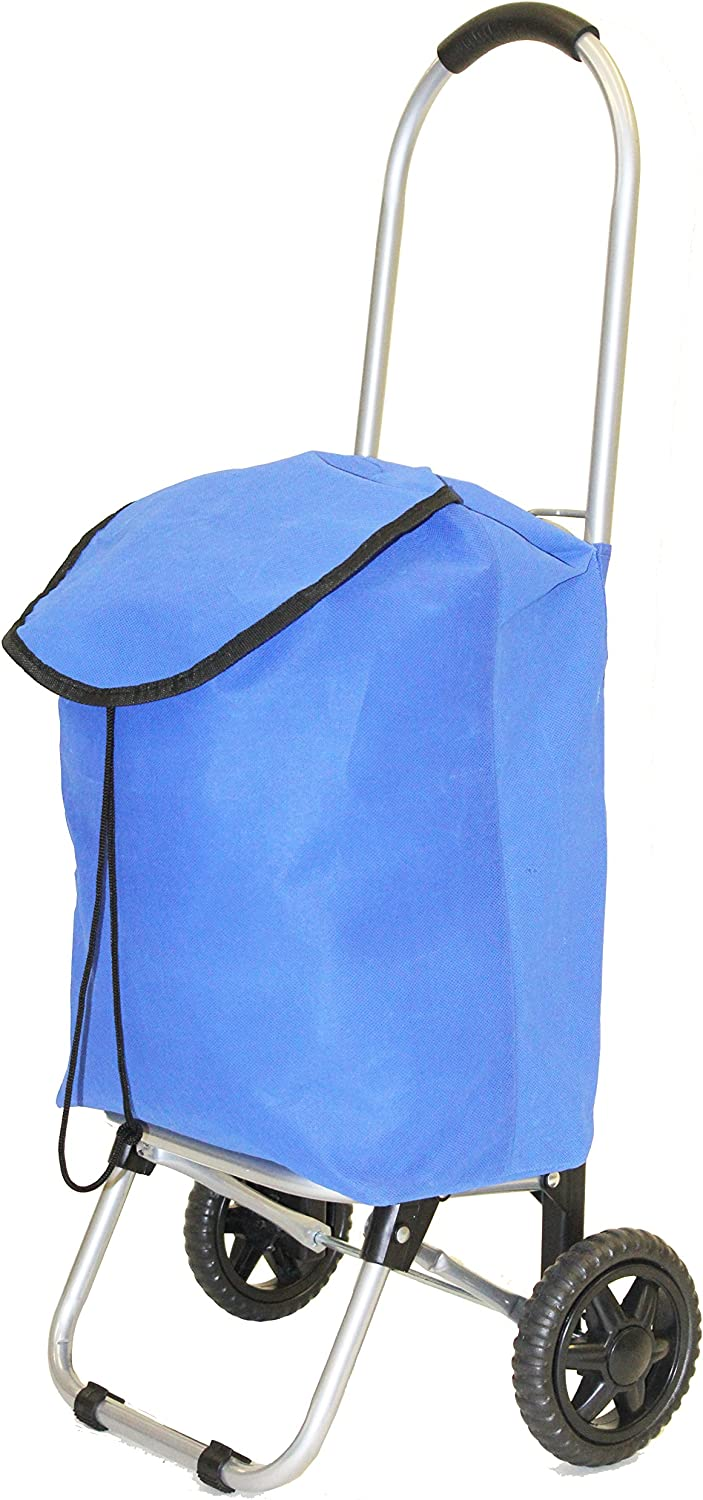 Blue dbest Products Ultra Light Folding Cart
