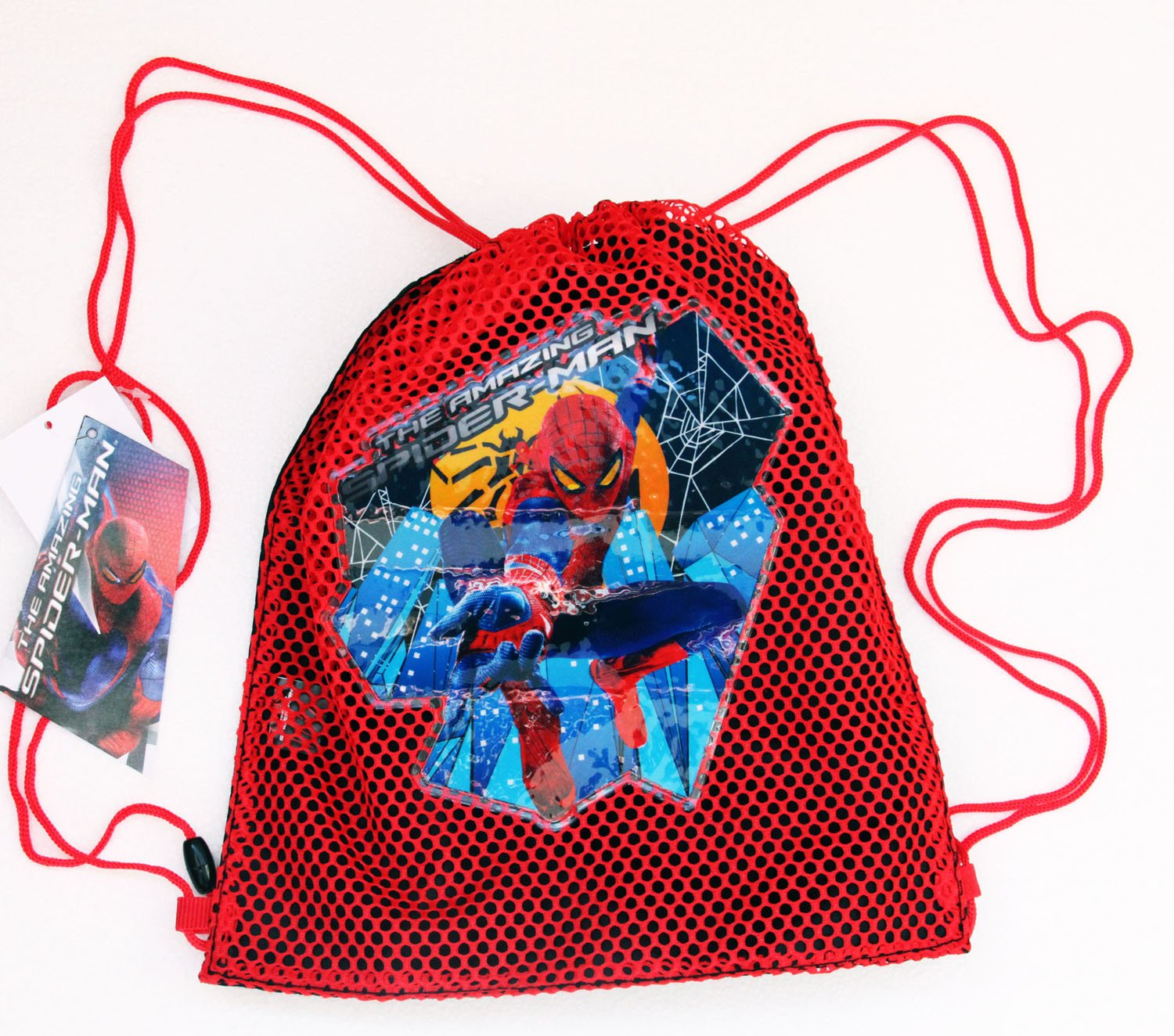 Amazon.com  Wholesale Lot 12 Pieces Marvel SPIDER-MAN Sling Bags Net Front  Birthday Party Favor - SOLD IN 12 PIECES  Toys   Games b06c394921440