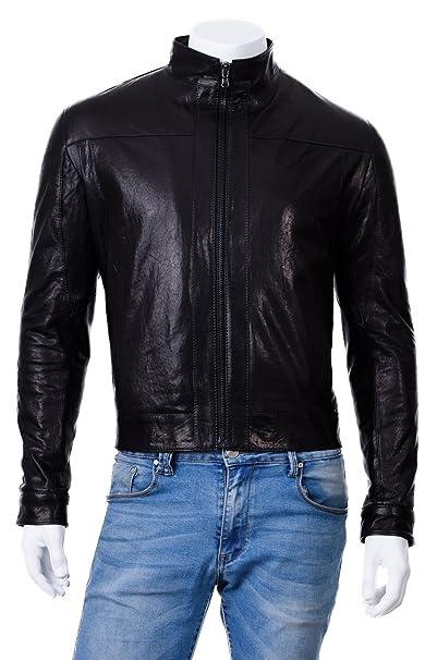 sale retailer 6a5c2 cfcf8 Pellein - Giacca di Pelle Uomo Armando: Amazon.it: Abbigliamento
