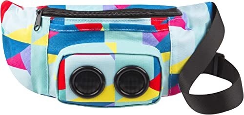 Vivitar Jam Bag Wireless Speaker Fanny Pack, Color Blocking Designs May Vary
