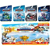 Skylanders SuperChargers 5 Pack Vehicle Starter Bundle! 5 Vehicles, 1 Trophy, 1 Character: Crypt Crusher, Sea Shadow, Sky Slicer, Dive Bomber, and Sky Racing Action Sun Runner, Astroblast, Sky Trophy