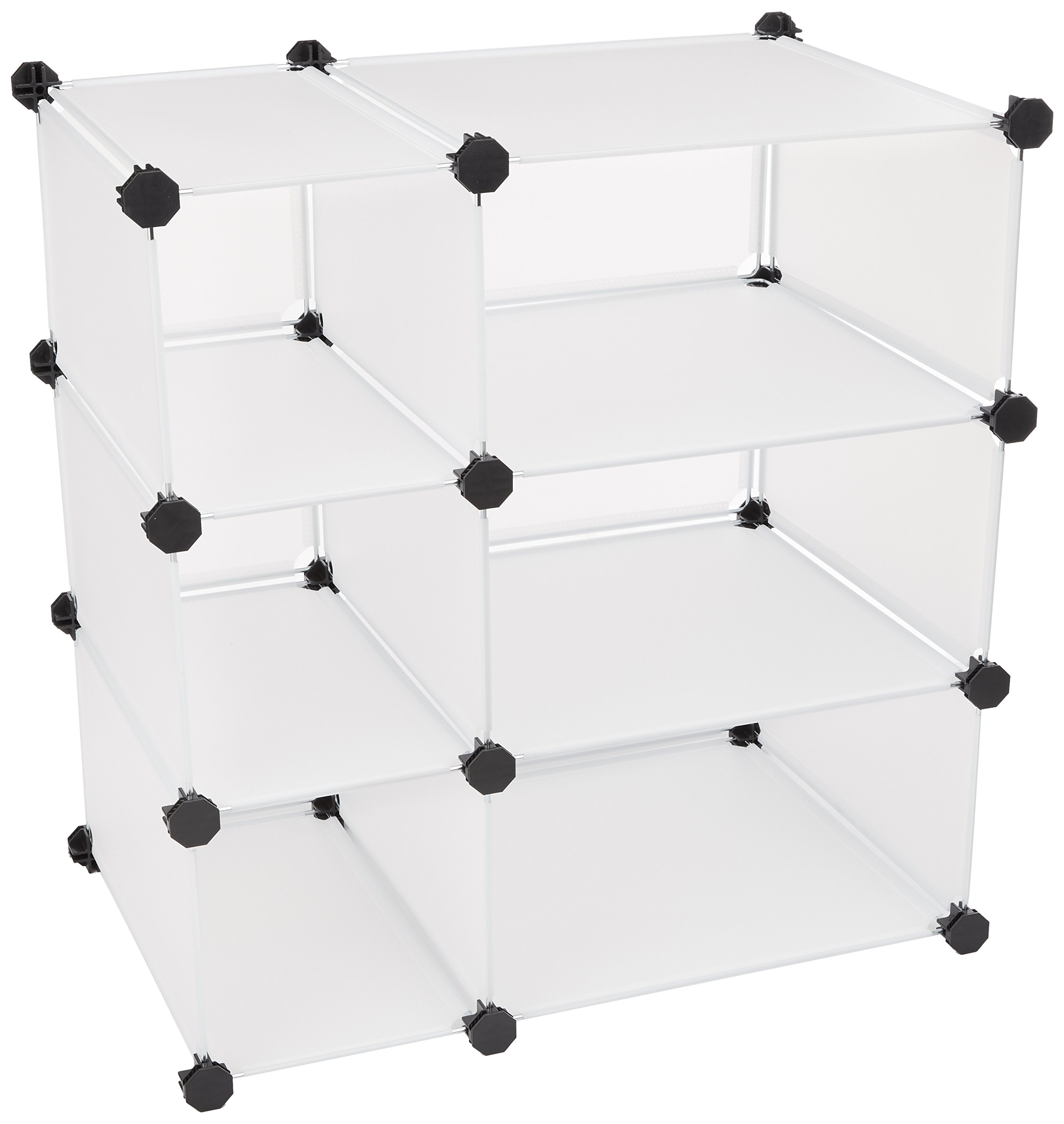 Mind Reader Storage Cube Organizer - Closet Organizer Cabinet, DIY Shelf Unit