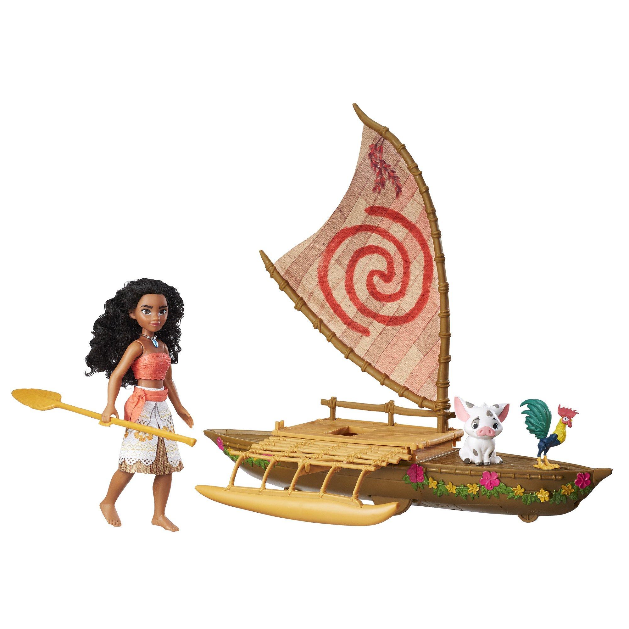 Pua /& Hei Hei Disney Moana Starlight Canoe and Friends Brand New in Box