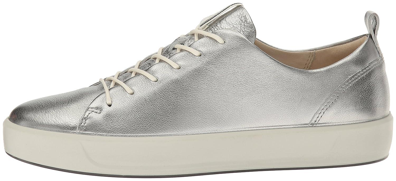 ECCO Women's Soft 8 Fashion M Sneaker B01I6GUMTS 40 EU/9-9.5 M Fashion US|Silver 944339