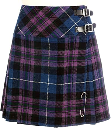 The Scotland Kilt Company Nuevo de Mujer Pride Of Escocia Escocés Mini Falda Escocesa Billie Mod Falda Tallas 6-22UK - Pride Of Escocia, 14 UK