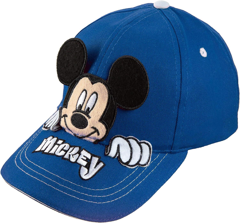 Disney Mickey Mouse Boys Peek-A-Boo Baseball Cap [2013] Blue: Clothing