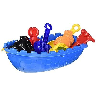 Toysmith Pirate Ship Beach Set: Toys & Games