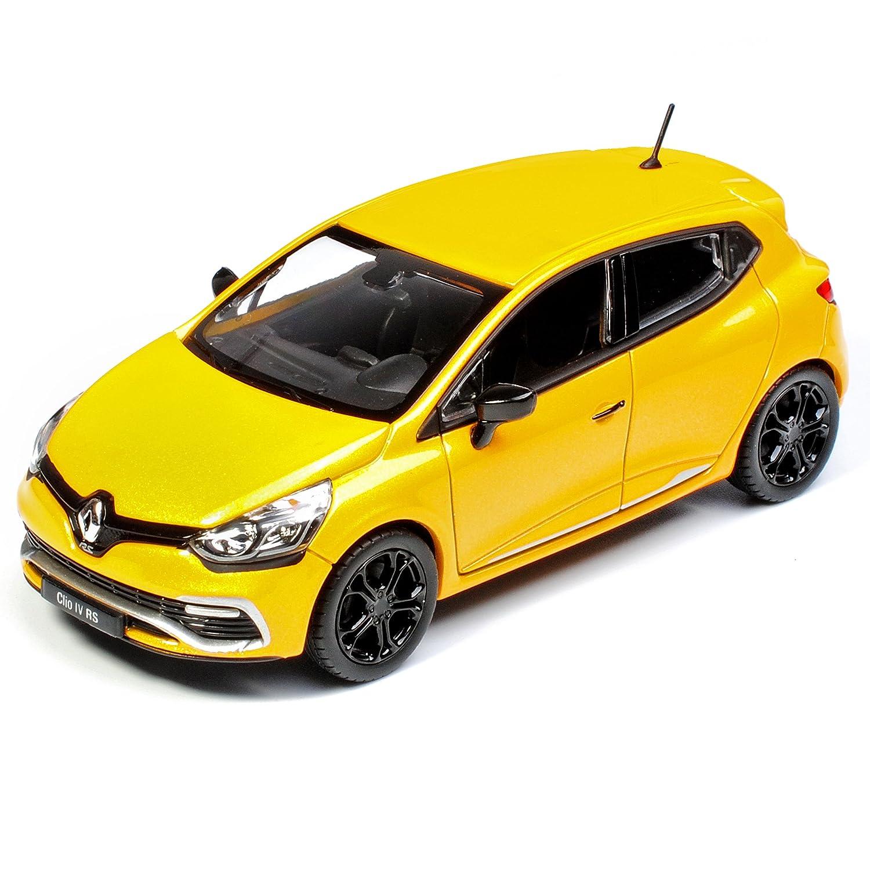 Norev Renault Clio RS IV X98 Gelb 5 T/ürer 4 Generation AB 2012 1//43 Modell Auto mit individiuellem Wunschkennzeichen