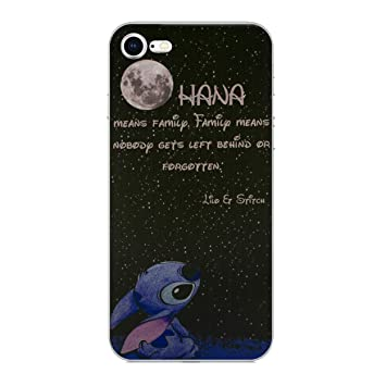 iPhone 7 Lilo & Stitch Estuche de Silicona / Cubierta de Gel para Apple iPhone 7