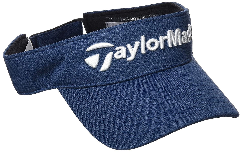 50f511fe370 TaylorMade 2017 Tour Radar Performance Mens Golf Visor-Adjustable Black   Amazon.co.uk  Sports   Outdoors