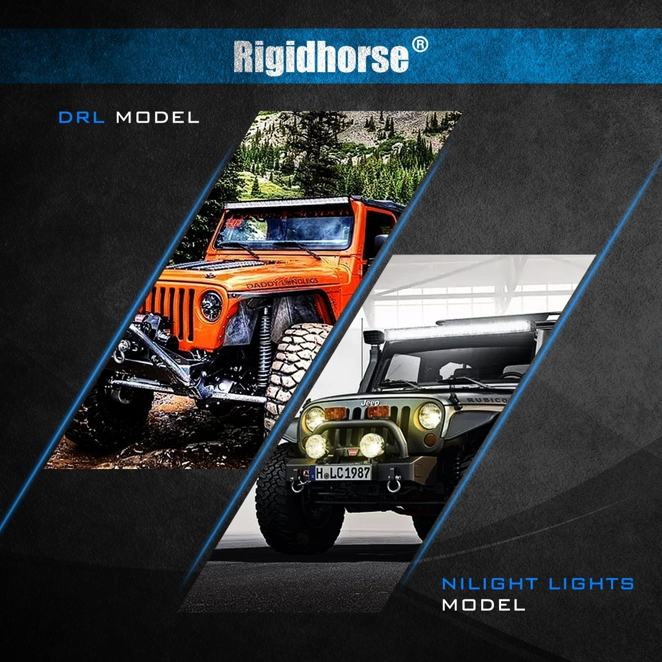 Wiring Harness Rigidhorse Remote Control Creating A Wire Kit For 8d Dual Mode Led Light Bar Universal Fitment Accessories Automotive