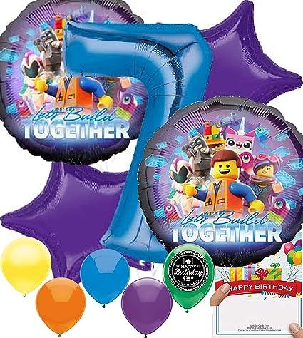 Amazon.com: Lego Movie - Juego de 2 accesorios de fiesta ...