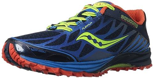 SAUCONY Peregrine 4 Zapatilla de Trail Running Caballero, color, talla 12: Amazon.es: Zapatos y complementos