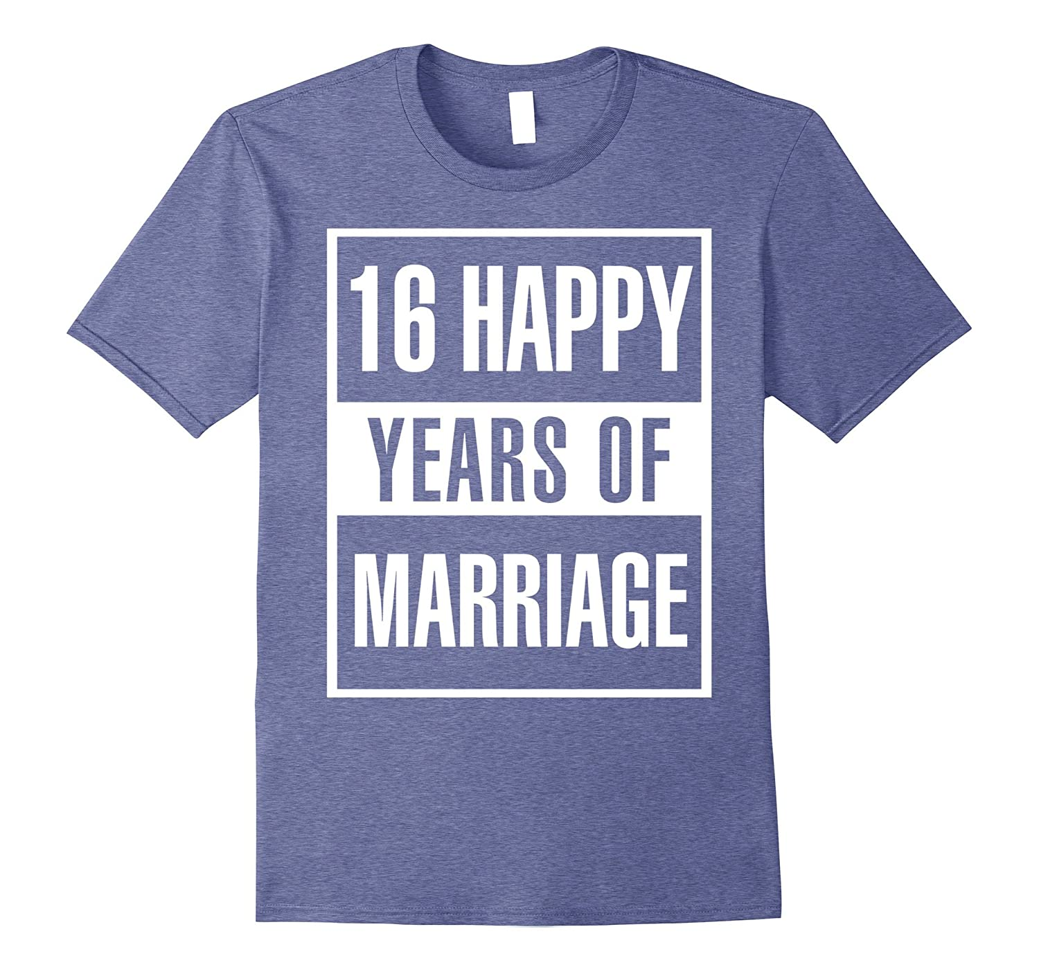 16th Wedding Anniversary Gift Idea Husband And Wife T