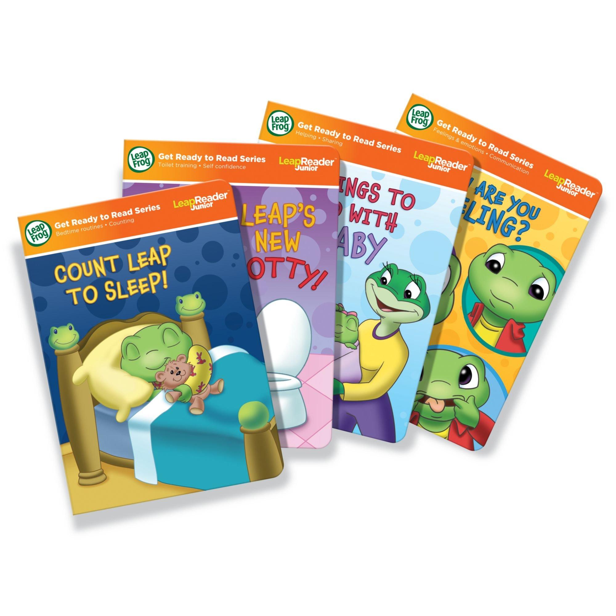 LeapFrog LeapReader Junior: Toddler Milestones Book Set (works with Tag Junior) by LeapFrog (Image #1)