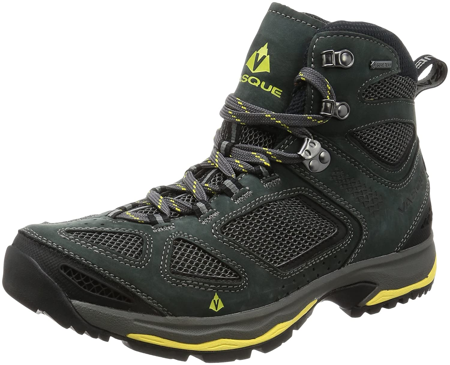 Vasque Menƒ_Ts Breeze III GTX Hiking Boots, Black Olive B01F5JZ06O 8 2E US|Magent / Yellow