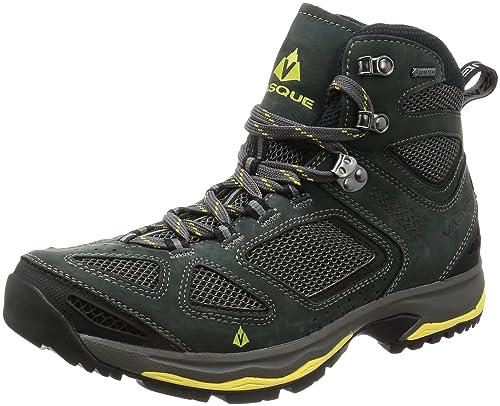 fe5a3f48b85 Vasque Breeze III GTX Hiking Boot - Men's Magnet/Yellow, 10.0 ...