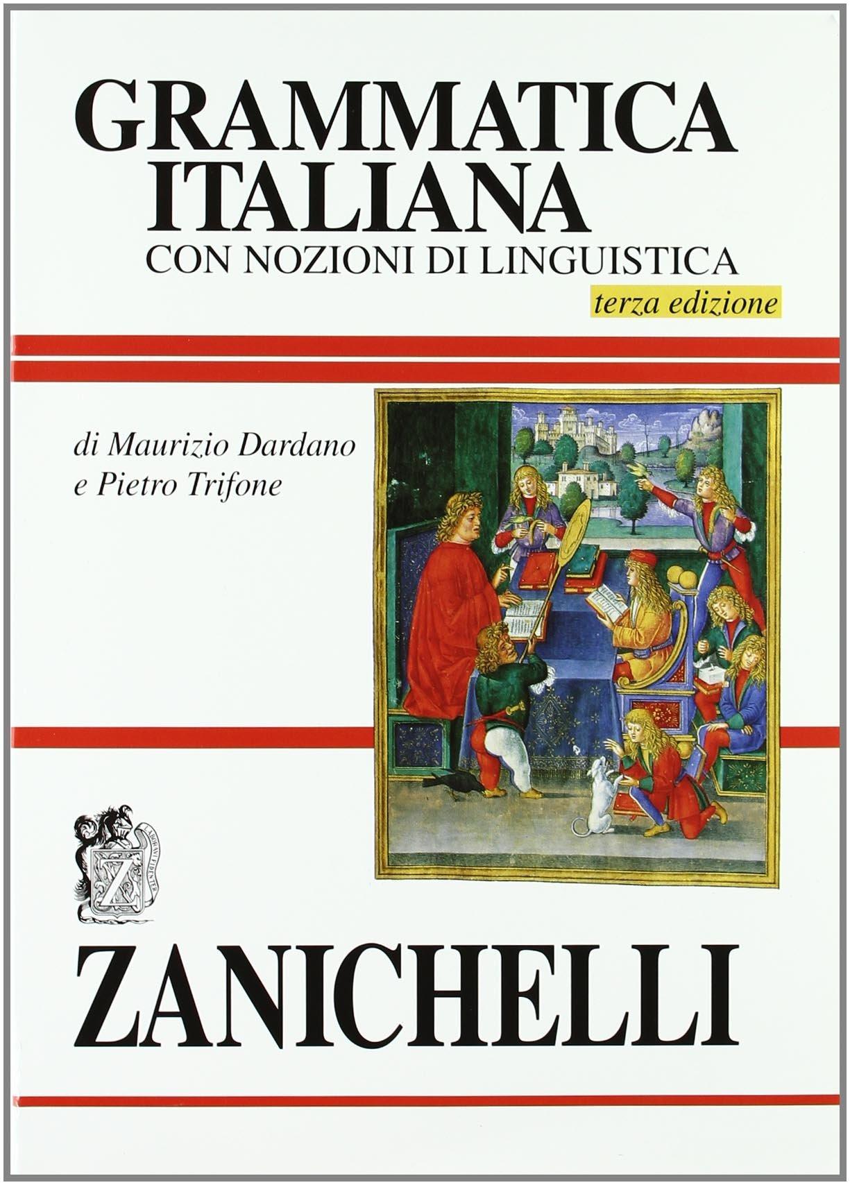 Grammatica italiana. Con nozioni di linguistica: Amazon.it: Maurizio  Dardano, Pietro Trifone: Libri