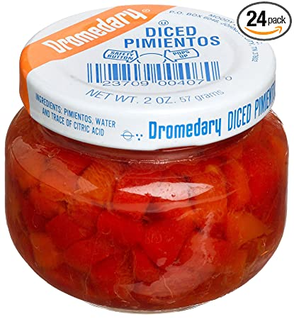 Dromedary Diced Pimientos, 2-Ounce Jars (Pack of 24)