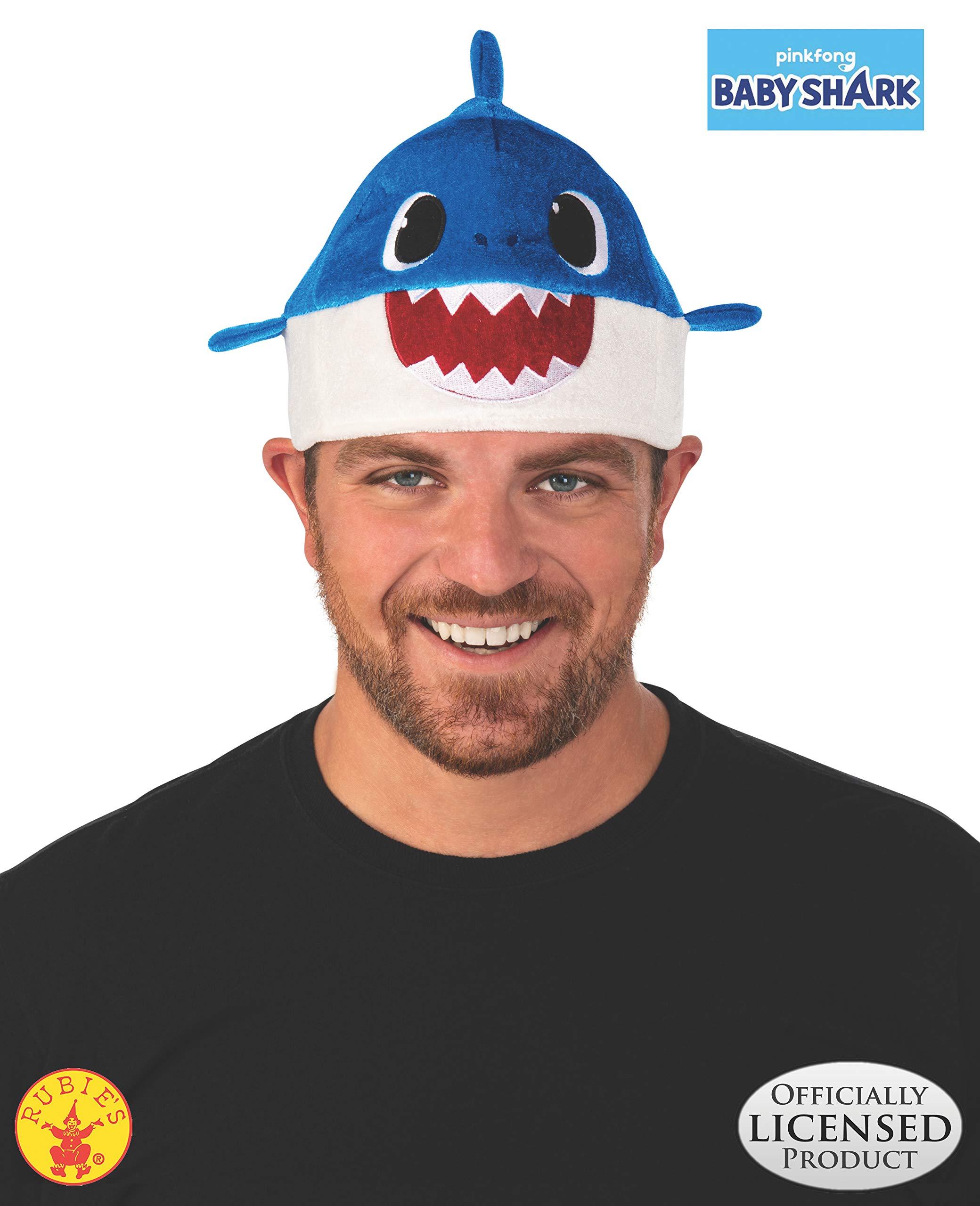 Rubie's Kids' Little Daddy Shark Hat, Blue, One Size by Rubie's