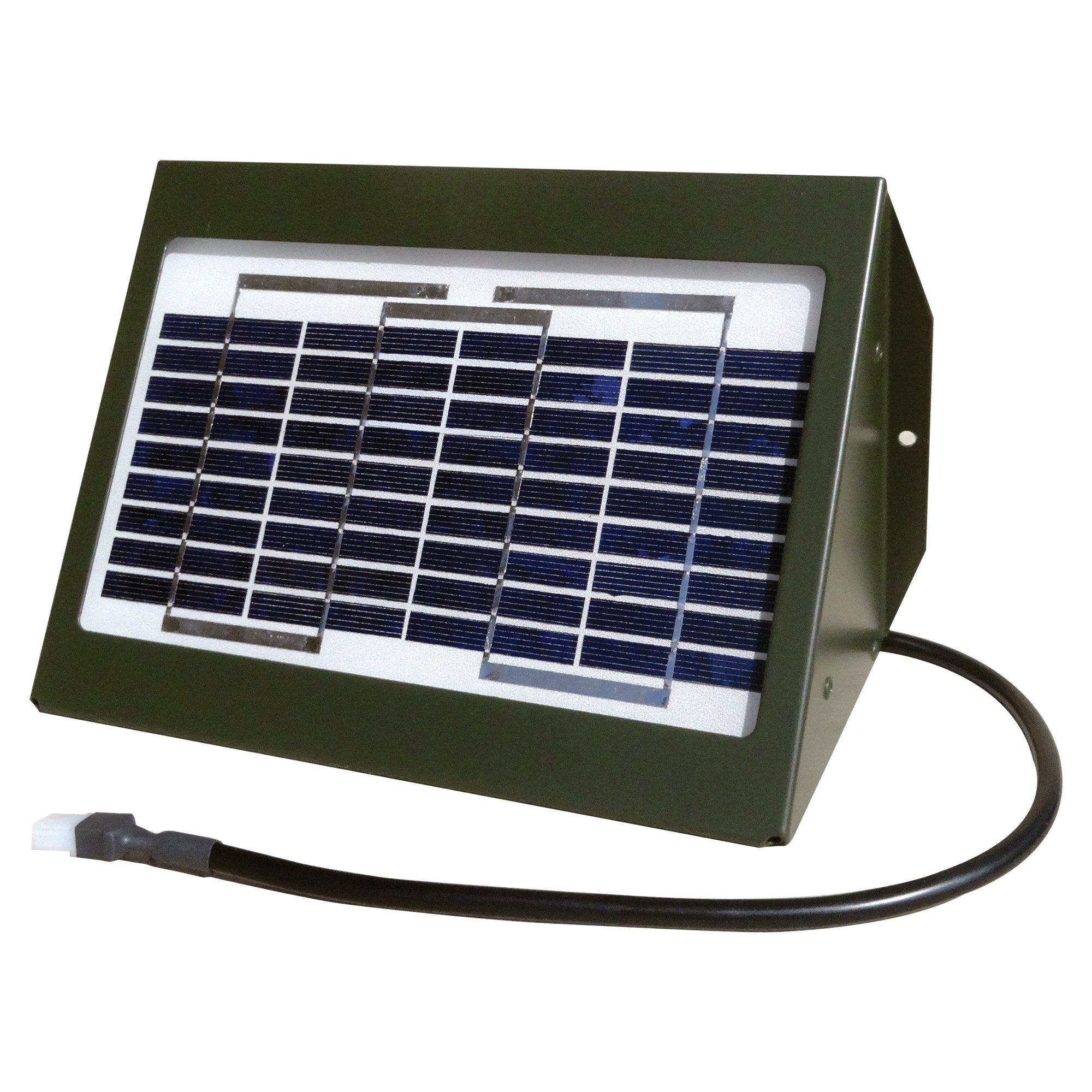 Texas Hunter 2-Watt Solar Charger for Directional Feeders - Model SP2W
