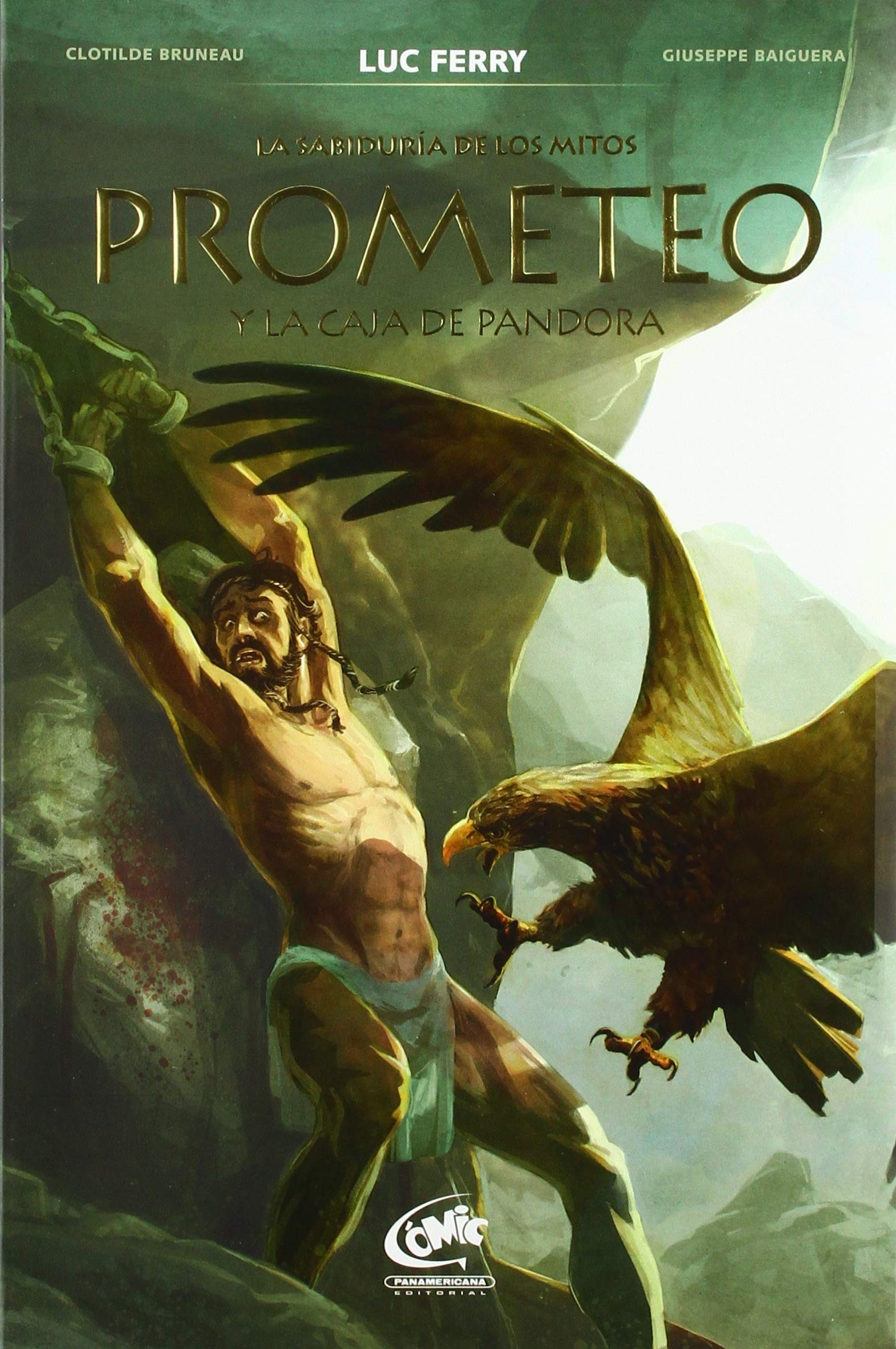 Prometeo y la caja de Pandora / Prometheus and Pandoras Box La ...
